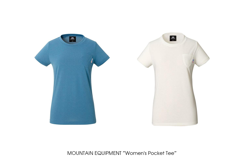"MOUNTAIN EQUIPMENT ""Women's Pocket Tee"""