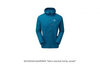 "MOUNTAIN EQUIPMENT ""Men's Aerofoil Full Zip Jacket"""