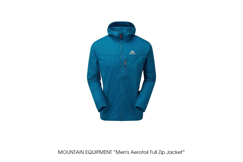 "MOUNTAIN EQUIPMENT ""Men's Aerofoil Full Zip Jacket"""