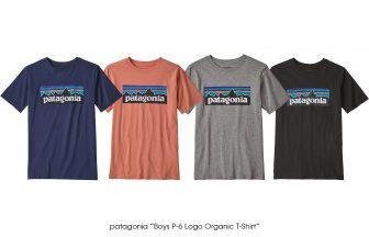 "patagonia ""Boys P-6 Logo Organic T-Shirt"""