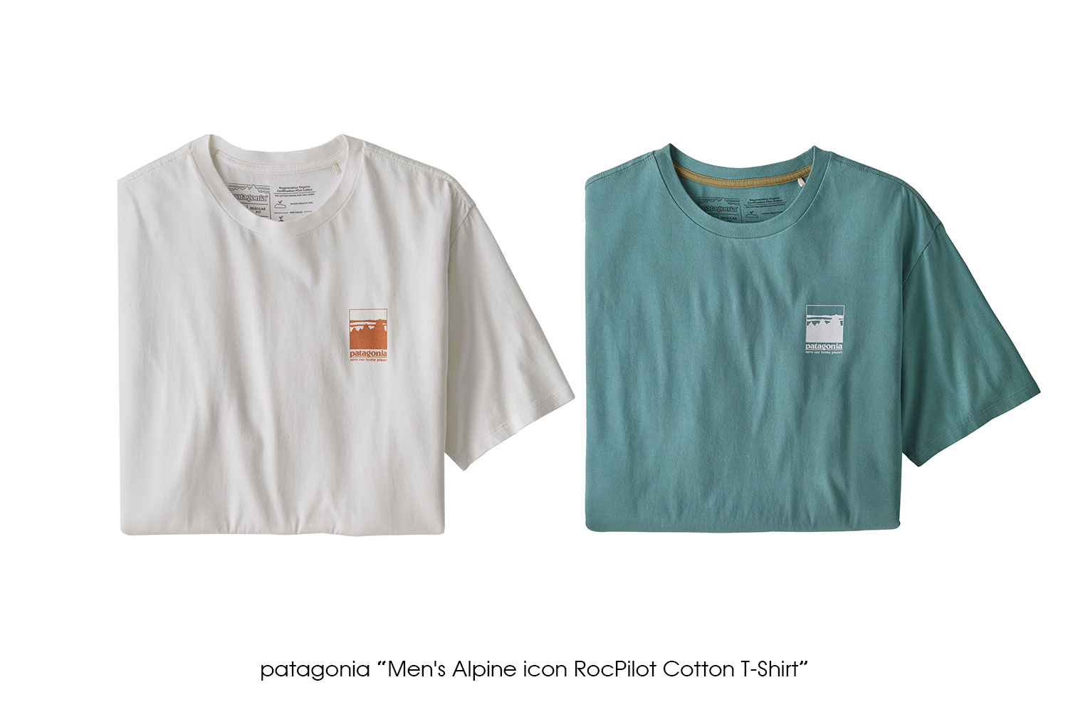 "patagonia ""Men's Alpine icon RocPilot Cotton T-Shirt"""