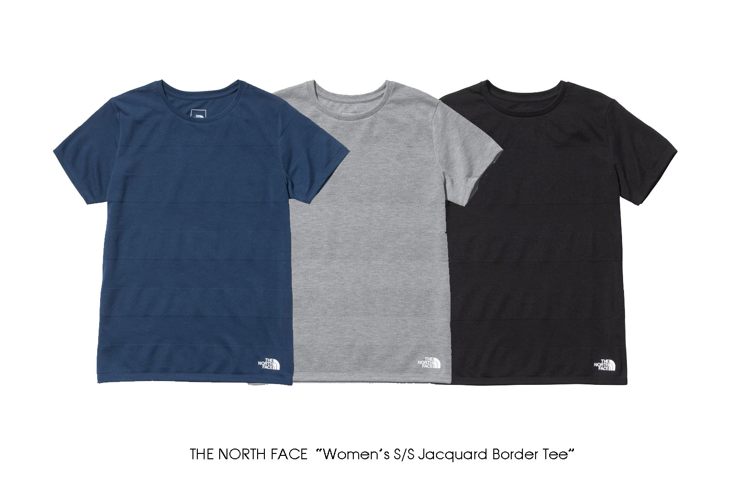 """THE NORTH FACE """"Women's S/S Jacquard Border Tee"""""""