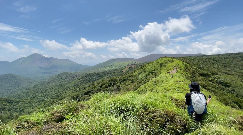 個人的に霧島山系の中でも、とても好きな場所のひとつ